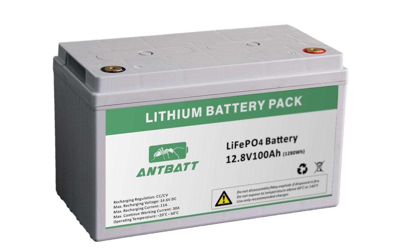 Lifepo4 Battery 12 8v 100ah Antbatt