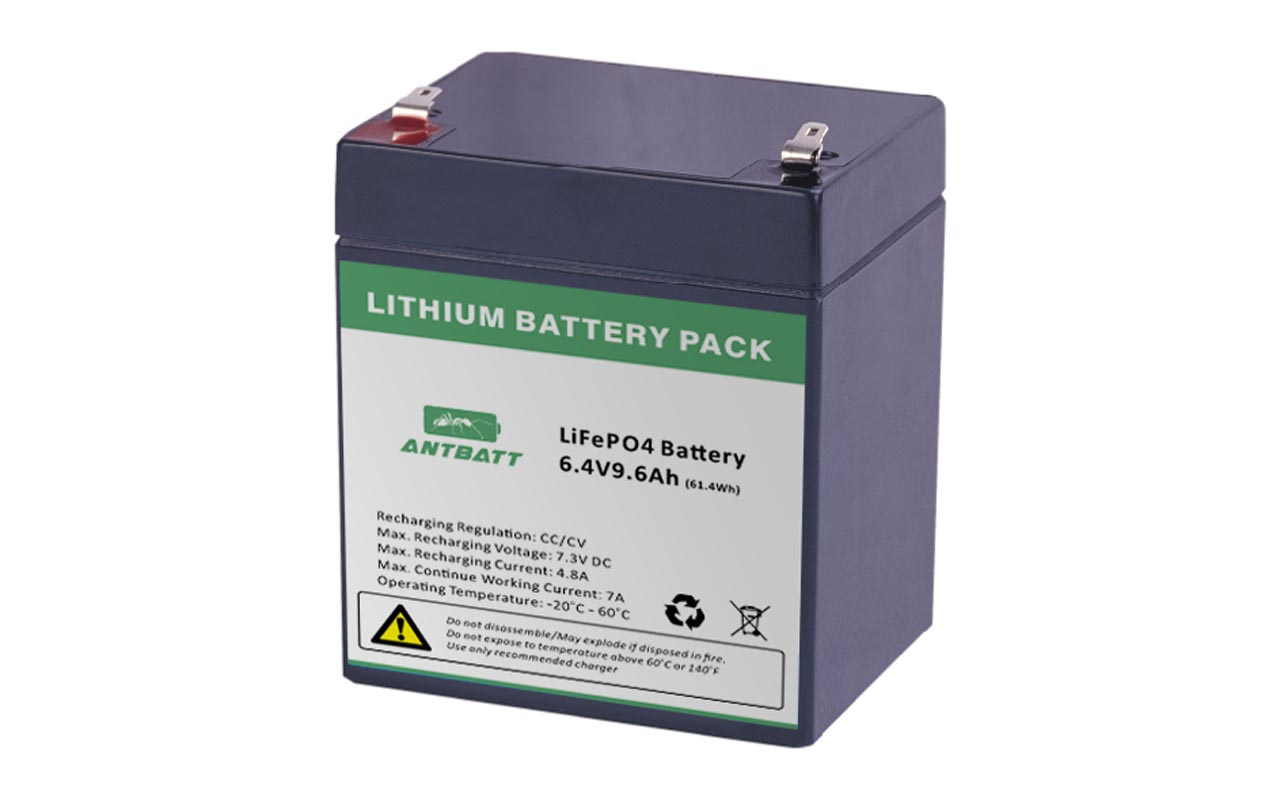 Solar Light LiFePO4 Batteries Street Light Battery AntBatt