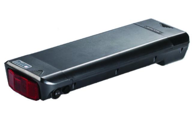 Li Ion Rear Rack E Bike Battery Pack Rr12 36v8 8ah 48v6